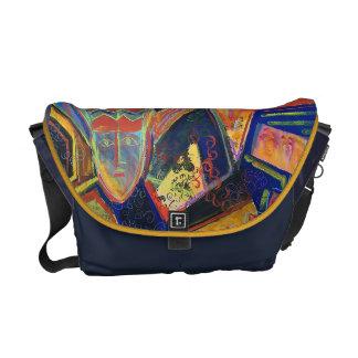 Colorful Petroglyphs Laptop Case/Messenger Bag Commuter Bags