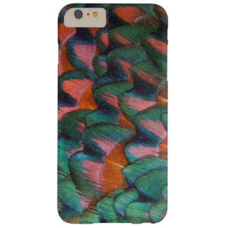 Colorful Pheasant Feathers Abstract Barely There iPhone 6 Plus Case
