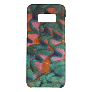 Colorful Pheasant Feathers Abstract Case-Mate Samsung Galaxy S8 Case