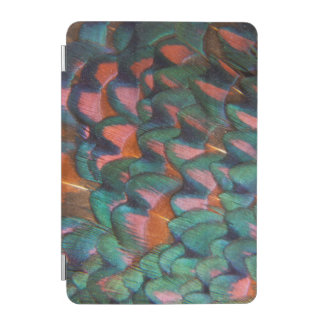 Colorful Pheasant Feathers Abstract iPad Mini Cover