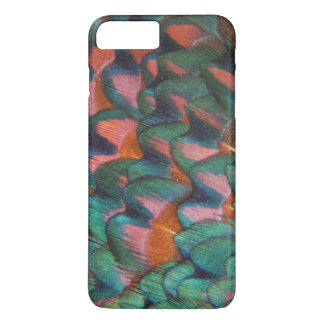 Colorful Pheasant Feathers Abstract iPhone 8 Plus/7 Plus Case