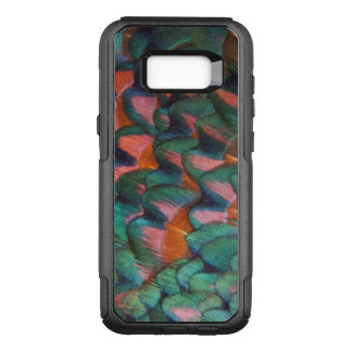 Colorful Pheasant Feathers Abstract OtterBox Commuter Samsung Galaxy S8+ Case