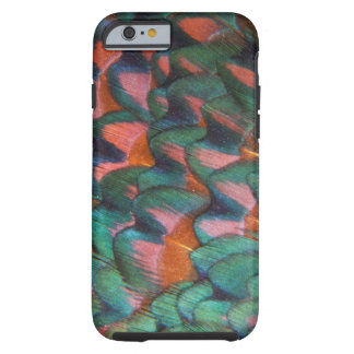 Colorful Pheasant Feathers Abstract Tough iPhone 6 Case