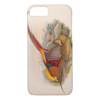 Colorful pheasant iPhone 8/7 case