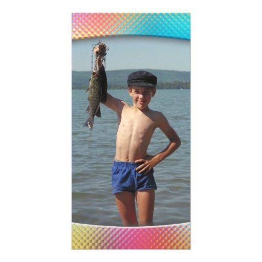 Colorful photo frame - Photo Card