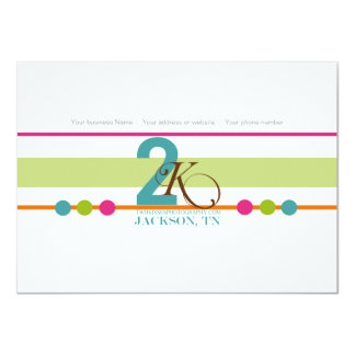 "Colorful Photography Business Thank You Cards 4.5"" X 6.25"" Invitation Card"