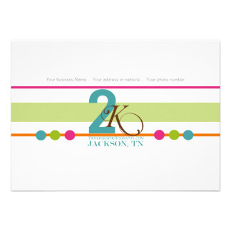 Colorful Photography Business Thank You Cards Announcement