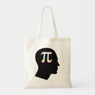 Colorful Pi Mind - math Bag