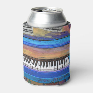 Colorful Piano Can Cooler
