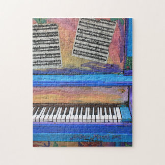 Colorful Piano Jigsaw Puzzle