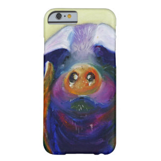 Colorful Pig iPhone Case