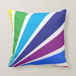 Colorful Pillow with blinds