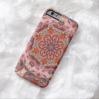 Colorful Pink Mandala iPhone6 Case