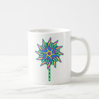 Colorful Pinwheel 3 - Coffee Mug