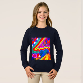 Colorful Pinwheel!!! Sweatshirt