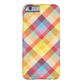 Colorful Pixels Geek Barely There iPhone 6 Case