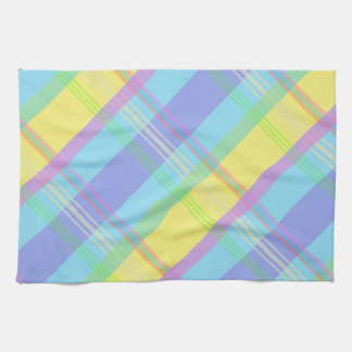 Colorful Plaid Towel
