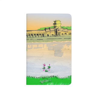 Colorful pocket notebook Angkor Wat Sunset