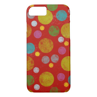colorful polka dots iPhone 7 case