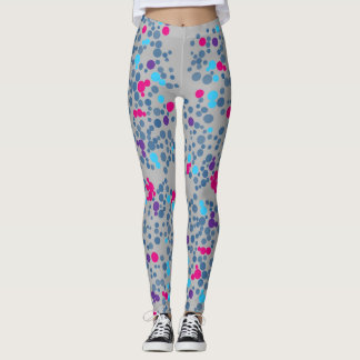 Colorful Polka Dots Leggings