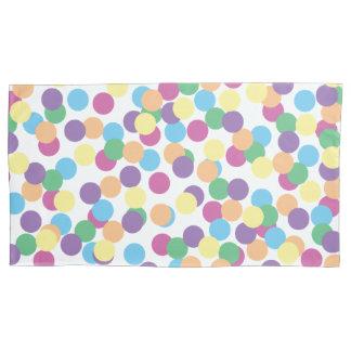 Colorful Polka-Dots Pillowcase