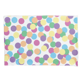 Colorful Polka-Dots Pillowcase