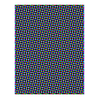 Colorful polka dots scrapbook paper