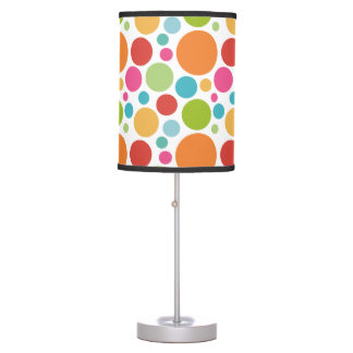Colorful Polka Dots Table Lamp