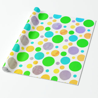 Colorful Polka Dots Wrapping Paper