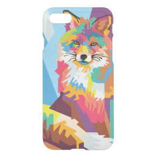 Colorful Pop Art Fox Portrait iPhone 8/7 Case