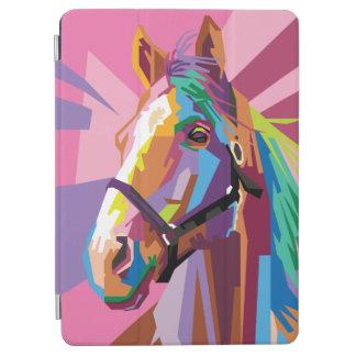 Colorful Pop Art Horse Portrait iPad Air Cover