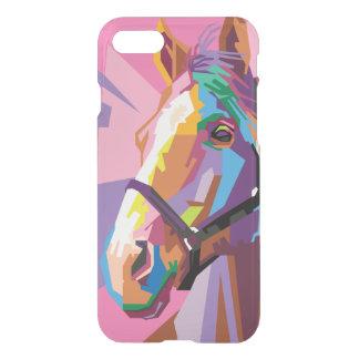 Colorful Pop Art Horse Portrait iPhone 8/7 Case