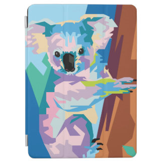 Colorful Pop Art Koala Portrait iPad Air Cover