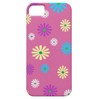 Colorful popart flower pattern iPhone 5 cover
