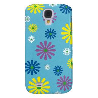 Colorful popart flower pattern HTC vivid case
