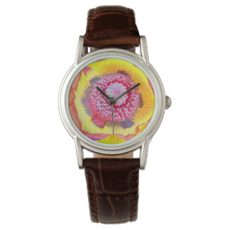 Colorful Poppy Watch