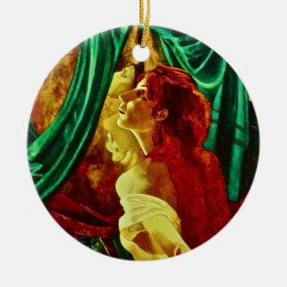 colorful porcelain ornament