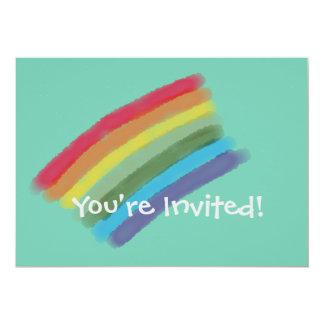 Colorful Postcard Invitation