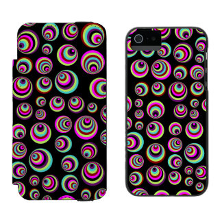 Colorful Psych Spots + your background & idea Incipio Watson™ iPhone 5 Wallet Case