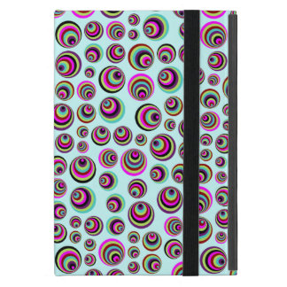 Colorful Psych Spots + your background & idea iPad Mini Case