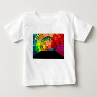 Colorful psychedelic baby T-Shirt