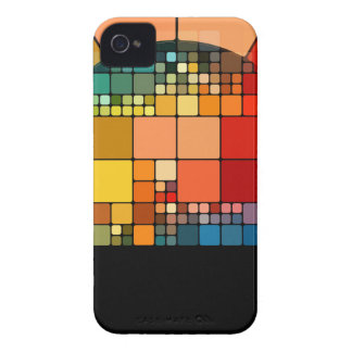 Colorful psychedelic Case-Mate iPhone 4 case