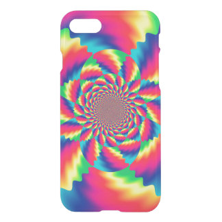 Colorful Psychedelic Fractal Pattern iPhone 7 Case