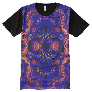 Colorful Psychedelic Indie Mandala Art