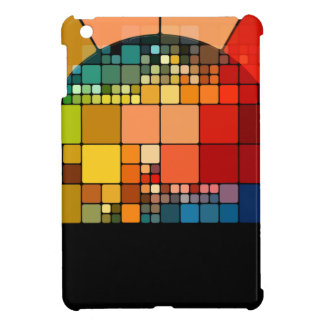 Colorful psychedelic iPad mini cover