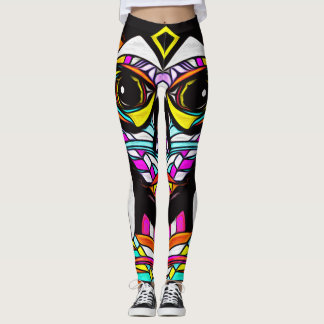 Colorful Psychedelic Leggings