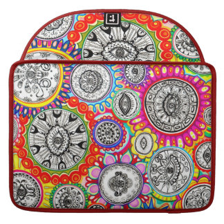 Colorful Psychedelic Macbook Pro Sleeve