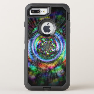 Colorful psychedelic sketch of an eye OtterBox defender iPhone 8 plus/7 plus case