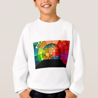 Colorful psychedelic sweatshirt