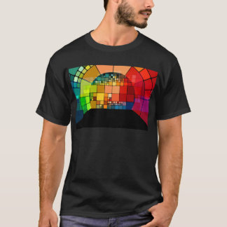 Colorful psychedelic T-Shirt